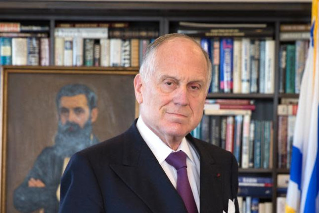 Ronald S. Lauder. (photo credit: NOA GRAYEVSKY)