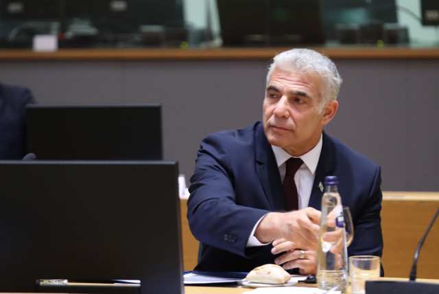 Yair Lapid: Europe must recognize Israel is under attack - The Jerusalem Post