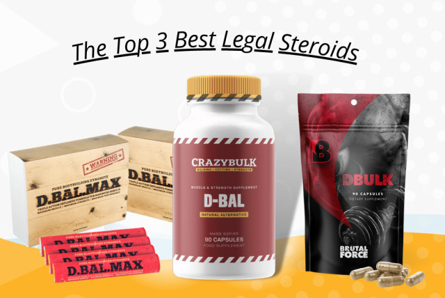 Best Legal Steroids (top 3) My #1 Pick Is Shockingly Powerful - The  Jerusalem Post