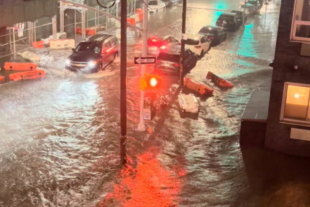 NY, NJ declare state of emergency over rain, at least 9 reported dead - The Jerusalem Post