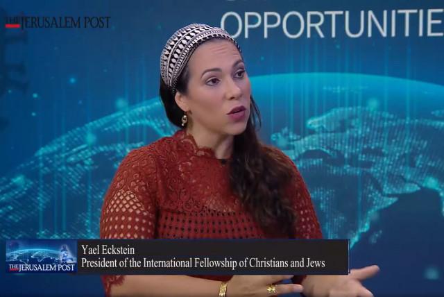 Yael Eckstein, President of the International Fellowship of Christians and Jews
