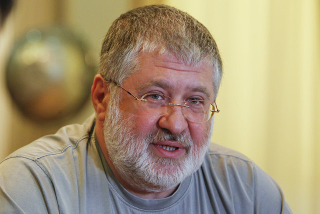 Ihor Kolomoyskyy speaks during an interview in Dnipropetrovsk May 24, 2014.