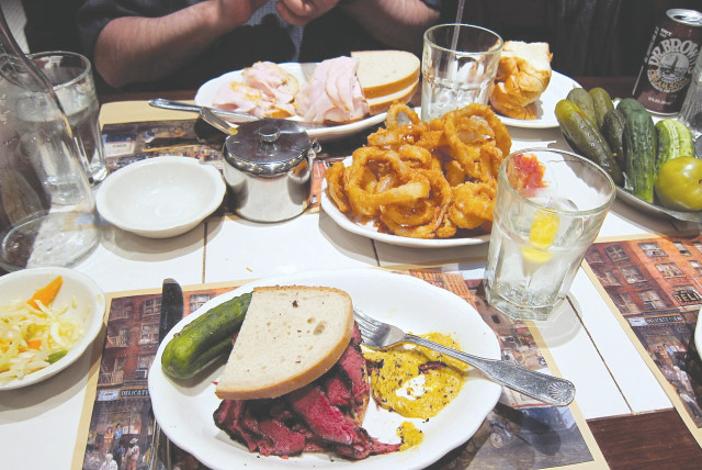 THE 2ND AVE DELI has been operating a kosher kitchen since 1954.