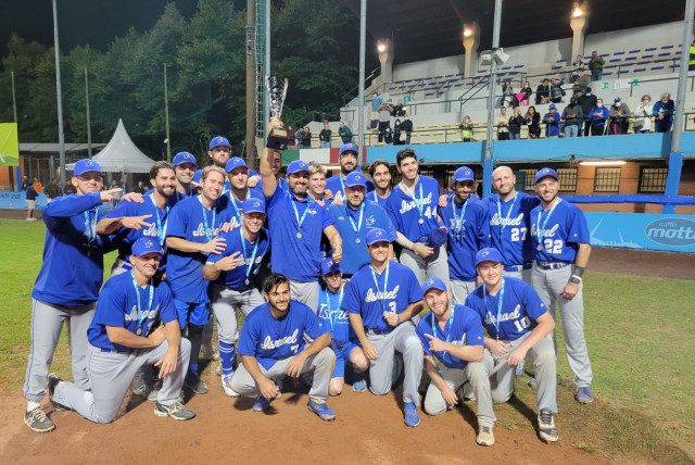 TEAM ISRAEL won a silver medal this week at the European Baseball Championships in Torino, Italy, after a heartbreaking 9-4 loss to the Netherlands in the final.