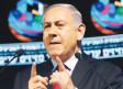 Prime Minister Benjamin Netanyahu addresses a conference in Tel Aviv on February 14