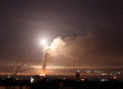 Missile fire is seen from Damascus, Syria May 10, 2018