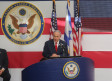 Prime Minister Benjamin Netanyahu speaking at the opening of the United States embassy in Jerusalem,
