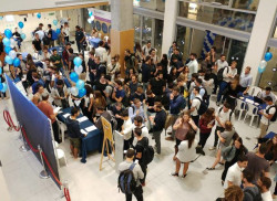 Students participate in activities at the Adelson School of Entrepreneurship