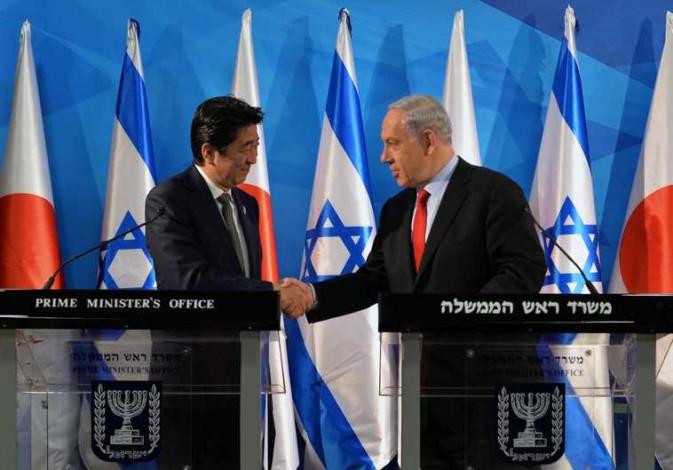 Netanyahu Shinzo Abe