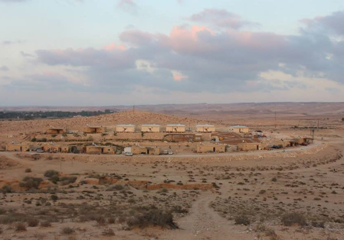 The Negev wilderness: A space of change, renewal and hope.