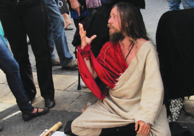 In Tel Aviv, a man claims to be the Messiah