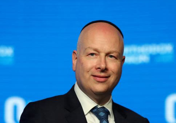 Jason Greenblatt, US President Donald Trump's Middle East envoy.