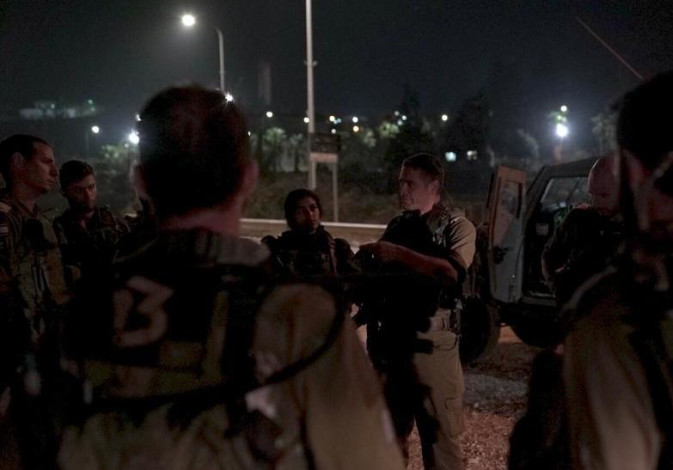 The IDF raid in the village of Yatta, home of terrorist who fatally stabbed Ari Fuld on September 16