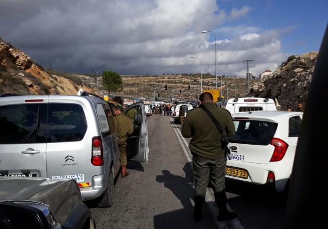 Terror attack on Givat Asaf