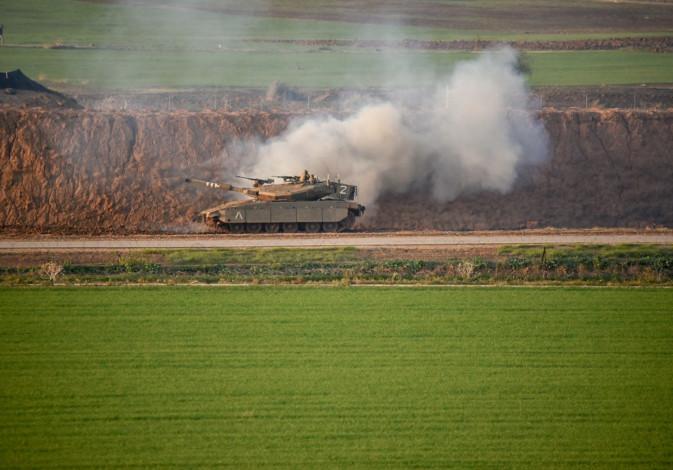 Palestinian riots in the Beit Hanoun area of the Gaza Strip.