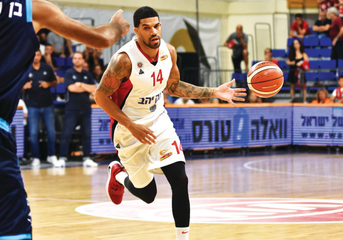 JAMES FELDEINE has made a big impact on Hapoel Jerusalem in his first year with the club, helping th