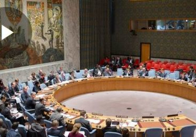 U.N. Security Council debates the situation in the Middle East
