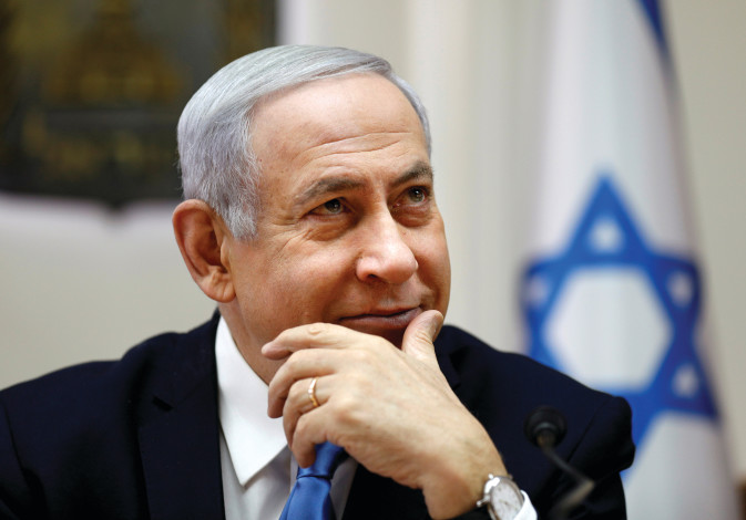 BENJAMIN NETANYAHU – the elections were all about him