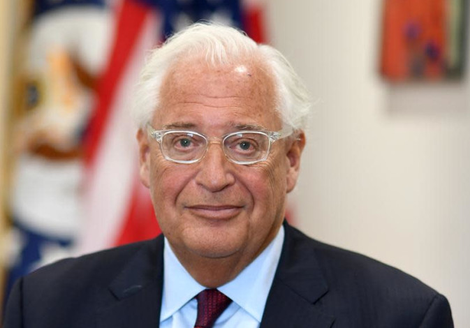 US Ambassador David Friedman