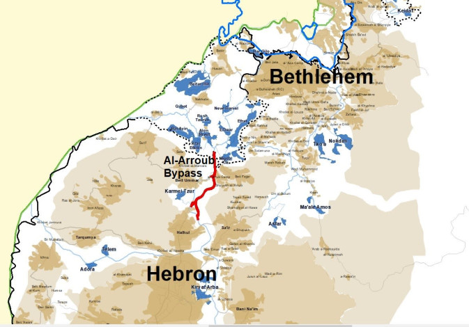 Gush Etzion-Hebron bypass road
