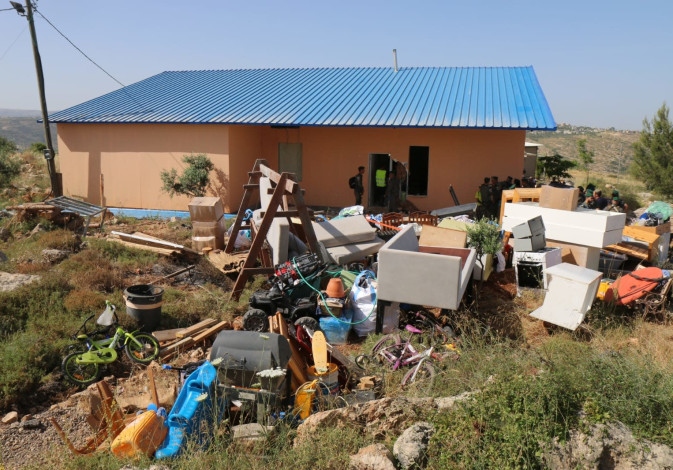 The Herzlich family home designated for destruction in Tapuach West