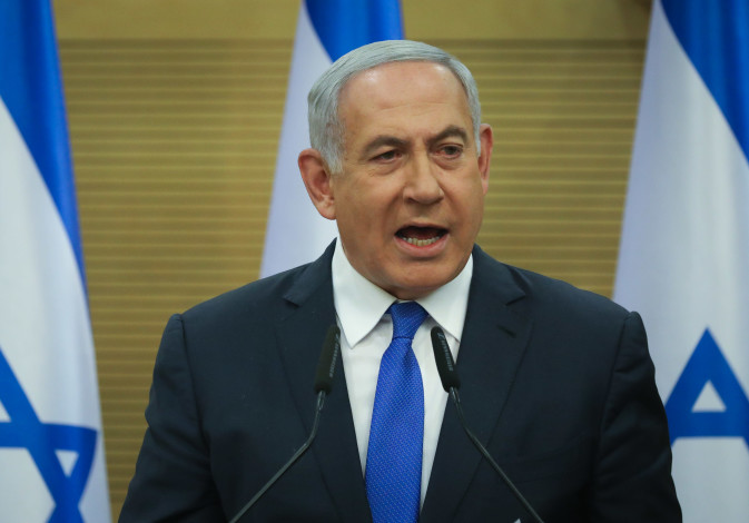 Prime Minister Benjamin Netanyahu promises to do all he can to build a coalition in a press conferen