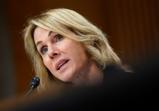 Kelly Craft testifies before a Senate Foreign Relations Committee
