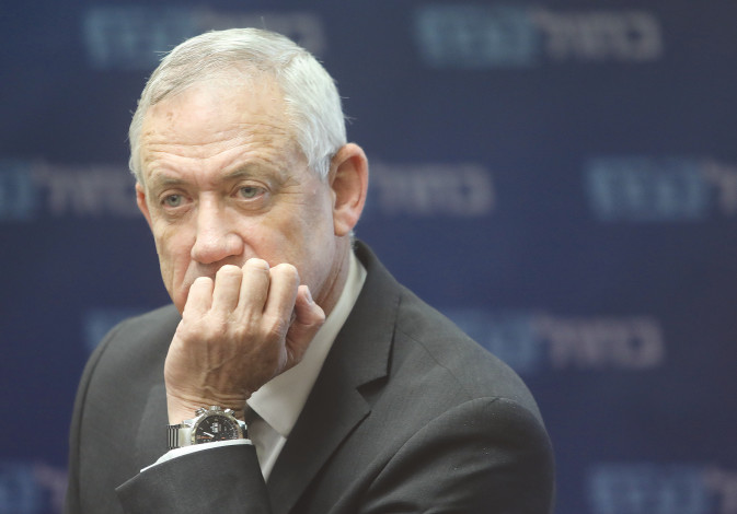 Benny Gantz has awoken from his post-election slumber.