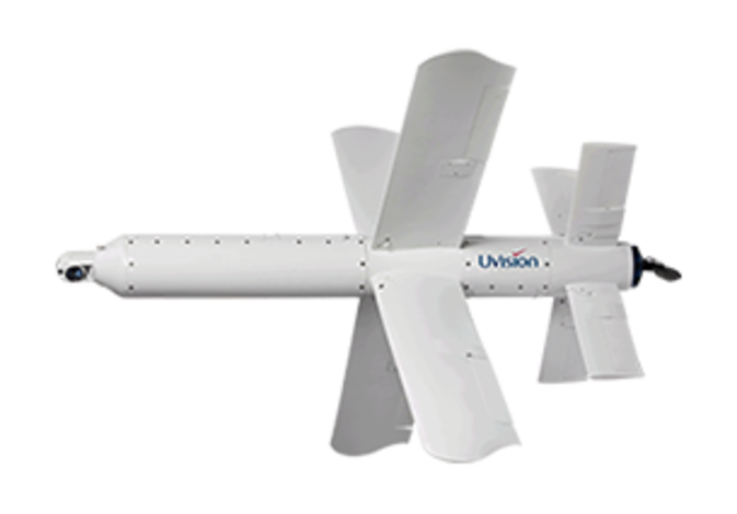 UVision's Hero-120 loitering munition
