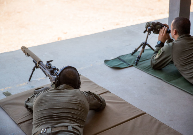 IDF's LOTAR Counter-Terror School training troops for future warfare