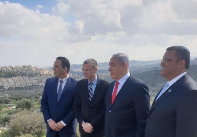 PM Benjamin Netanyahu and Jerusalem Mayor Moshe Lion announce new housing units in Har Homa