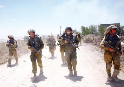 IDF soldiers take part in Operation Protective Edge. (photo credit: ANNA GOLIKOV)