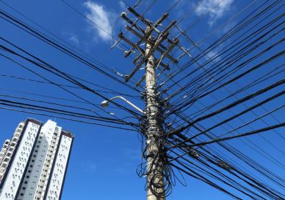 Electric poles (photo credit: REUTERS)