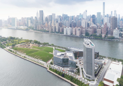 THE NEWLY INAUGURATED Jacobs Technion-Cornell Institute is seen on Roosevelt Island in New York City. (photo credit: IWAN BAAN)