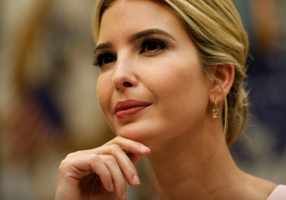 Ivanka Trump leads a listening session with military spouses at the White House in Washington (photo credit: REUTERS / JONATHAN ERNST)