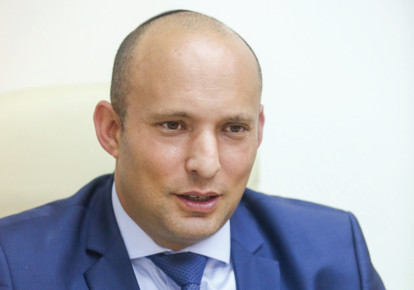 Education and Diaspora Affairs Minister Naftali Bennett.  (photo credit: MARC ISRAEL SELLEM/THE JERUSALEM POST)