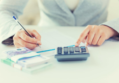 Calculating taxes (photo credit: INGIMAGE)