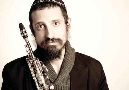 Jazz reedman Daniel Zamir will feature in the Purim Tish event on February 24 (photo credit: IDO IZSAK)