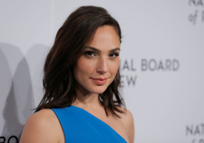Gal Gadot at the National Board of Review awards gala in New York, US, January 9, 2018.  (photo credit: LUCAS JACKSON / REUTERS)