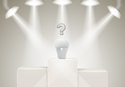 LED Lighting success (illustrative) (photo credit: BIGSTOCK)