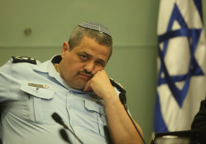 Police Commissioner Roni Alsheikh. (photo credit: MARC ISRAEL SELLEM)