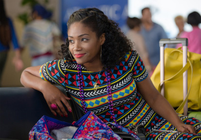 "Tiffany Haddish in the film, ""Girls Trip."" (photo credit: MICHELE K. SHORT/TRIBUNE NEWS SERVICE)"