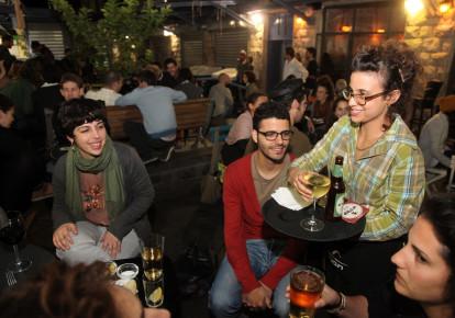 Mahaneh Yehuda Shuk nightlife. (photo credit: MARC ISRAEL SELLEM)