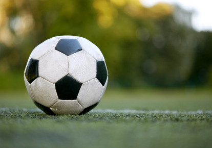 Soccer ball (illustrative) (photo credit: ING IMAGE/ASAP)