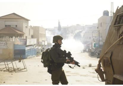 IDF soldier near Jenin  (photo credit: IDF SPOKESMAN'S UNIT)