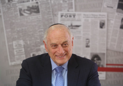 Malcolm Hoenlein, executive vice chairman of the Conference of Presidents of Major American Jewish Organizations. (photo credit: MARC ISRAEL SELLEM)
