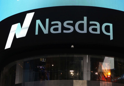 The NASDAQ building in New York (photo credit: SHANNON STAPLETON / REUTERS)