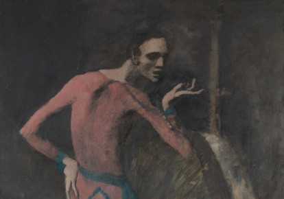 'The Actor' by Pablo Picasso currently on display at the Metropolitan Museum of Art in New York City. (photo credit: PABLO PICASSO)