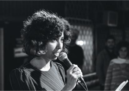 Poet Adi Keissar  (photo credit: GENADY SHKOLNIK)