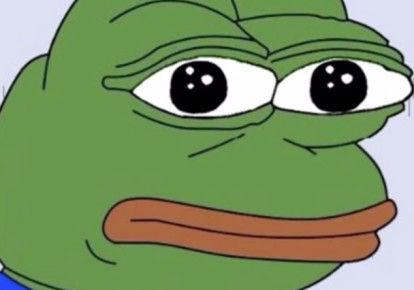 Pepe the Frog cartoon (photo credit: WIKIMEDIA COMMONS/ 9VJ)